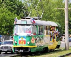 График движения трамваев на День Победы 9 мая 2018 года